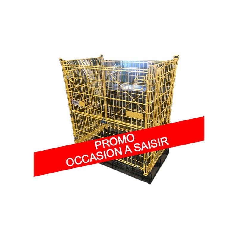 Conteneur grillag d 39 occasion for Container bois occasion