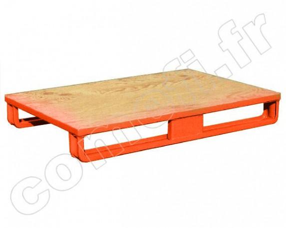 palette plancher en bois