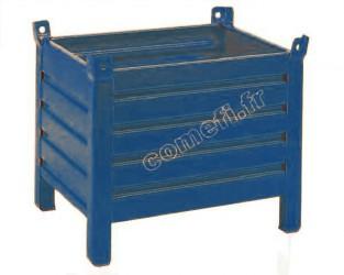 Conteneur tôle 600Kg / 800 x 600 H 500