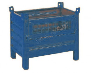 Conteneur tôle 600Kg / 800 x 500 H 500
