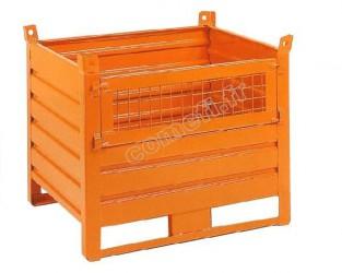 Conteneur tôle 1000Kg / 1000 x 800 H 650