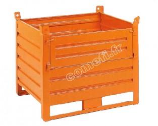 Conteneur tôle 1000Kg / 1000 x 800 H 800
