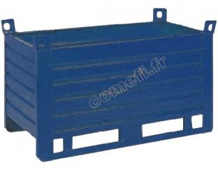 Conteneur tôle 1500Kg / 1500 x 1000 H 650