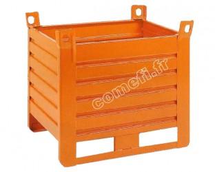 Conteneur tôle 1500 Kg /1300 x 1000 H 700