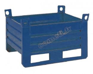 Conteneur tôle 1500Kg / 1200 x 800 H 400