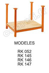 RACKS 1000 KG Plancher bois